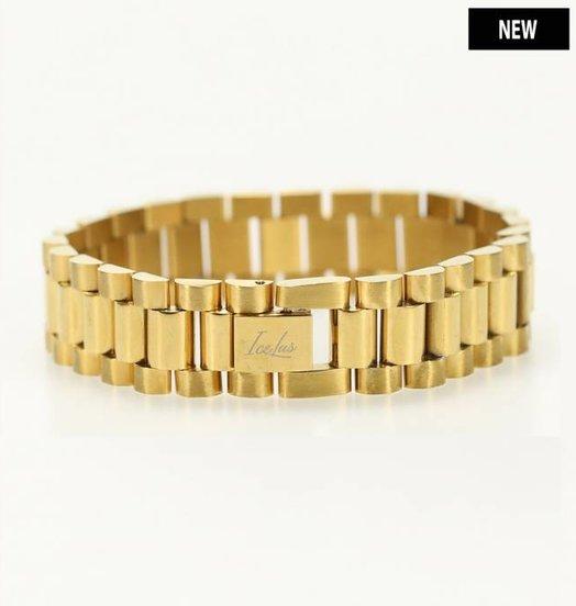 Icelus Clothing Steel Bracelet Gold