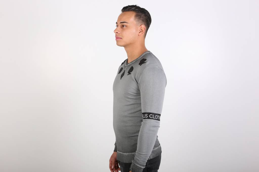 Icelus Clothing Casino Sweater Grey