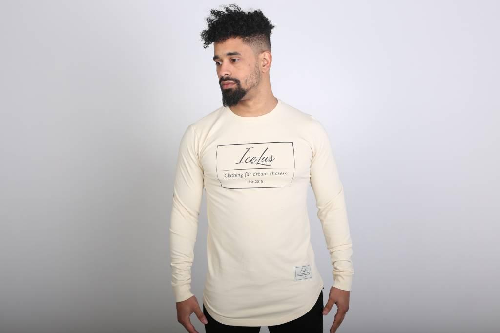 Icelus Clothing Vertical Longsleeve Vanilla