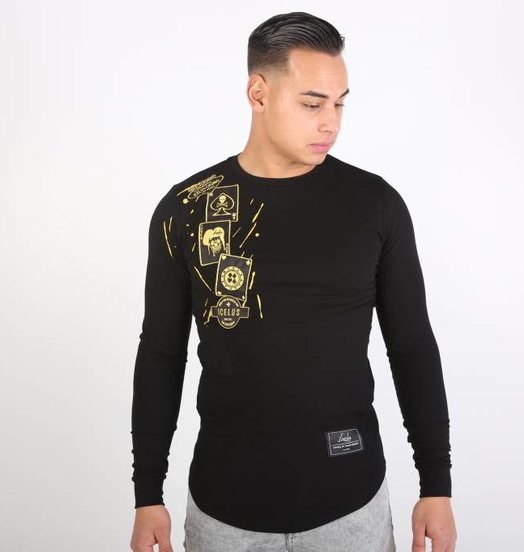 Icelus Clothing Casino Longsleeve Black