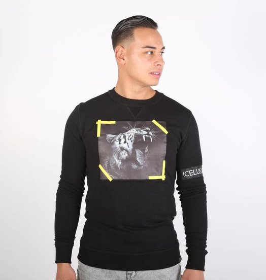 Icelus Clothing Tiger Sweater Black