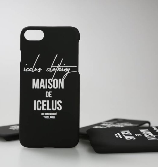 Icelus Clothing Mobile Case Matt Black (Multiple Sizes)