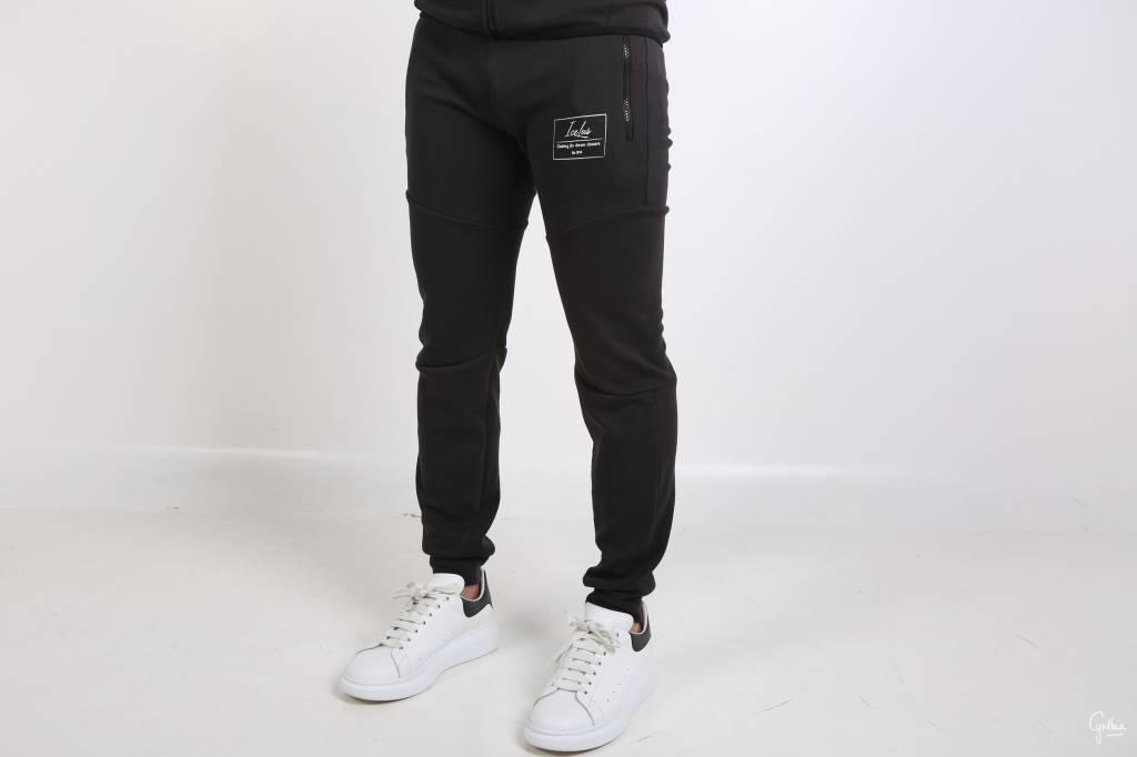 Icelus Clothing Tech Fleece Suit Vertical Black