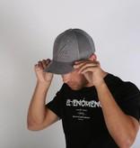 Icelus Clothing Suede Cap Grey