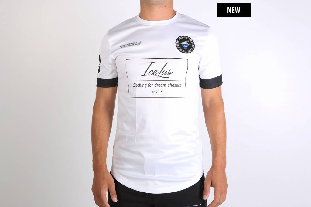Icelus Clothing Football Jersey White