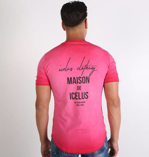 Icelus Clothing Maison Series  Washed Red