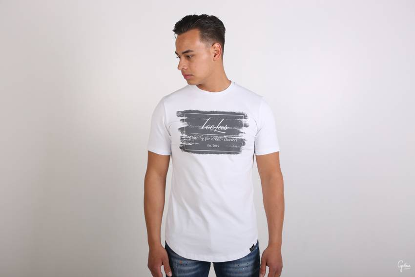 Icelus Clothing Stripe Series White