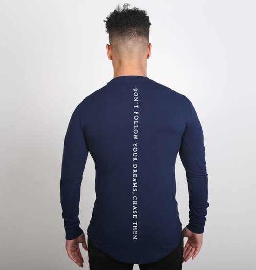 Icelus Clothing Vertical Longsleeve Blue