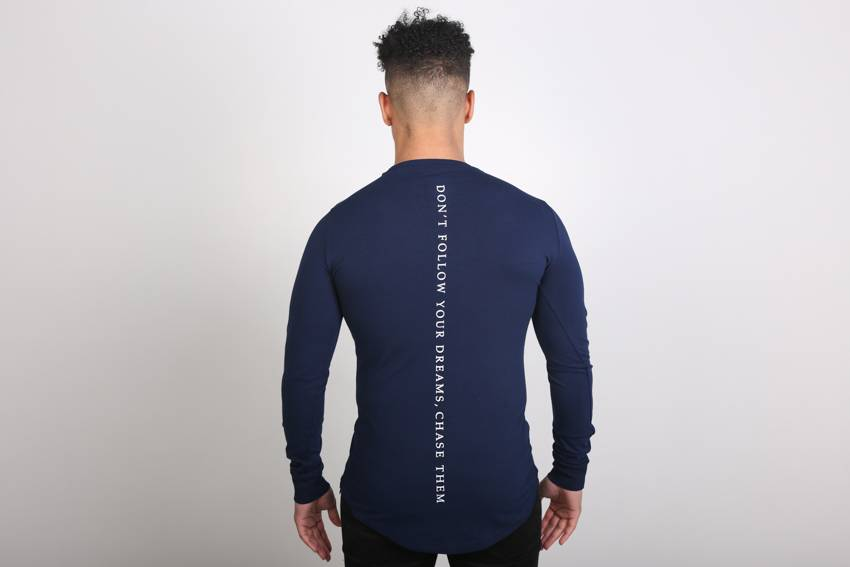 Icelus Clothing Vertical Longsleeve Blue