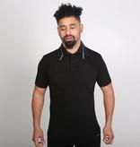 Icelus Clothing Zip Polo T-Shirt Black