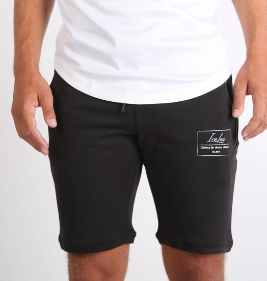 Icelus Clothing Tech Fleece Short Black