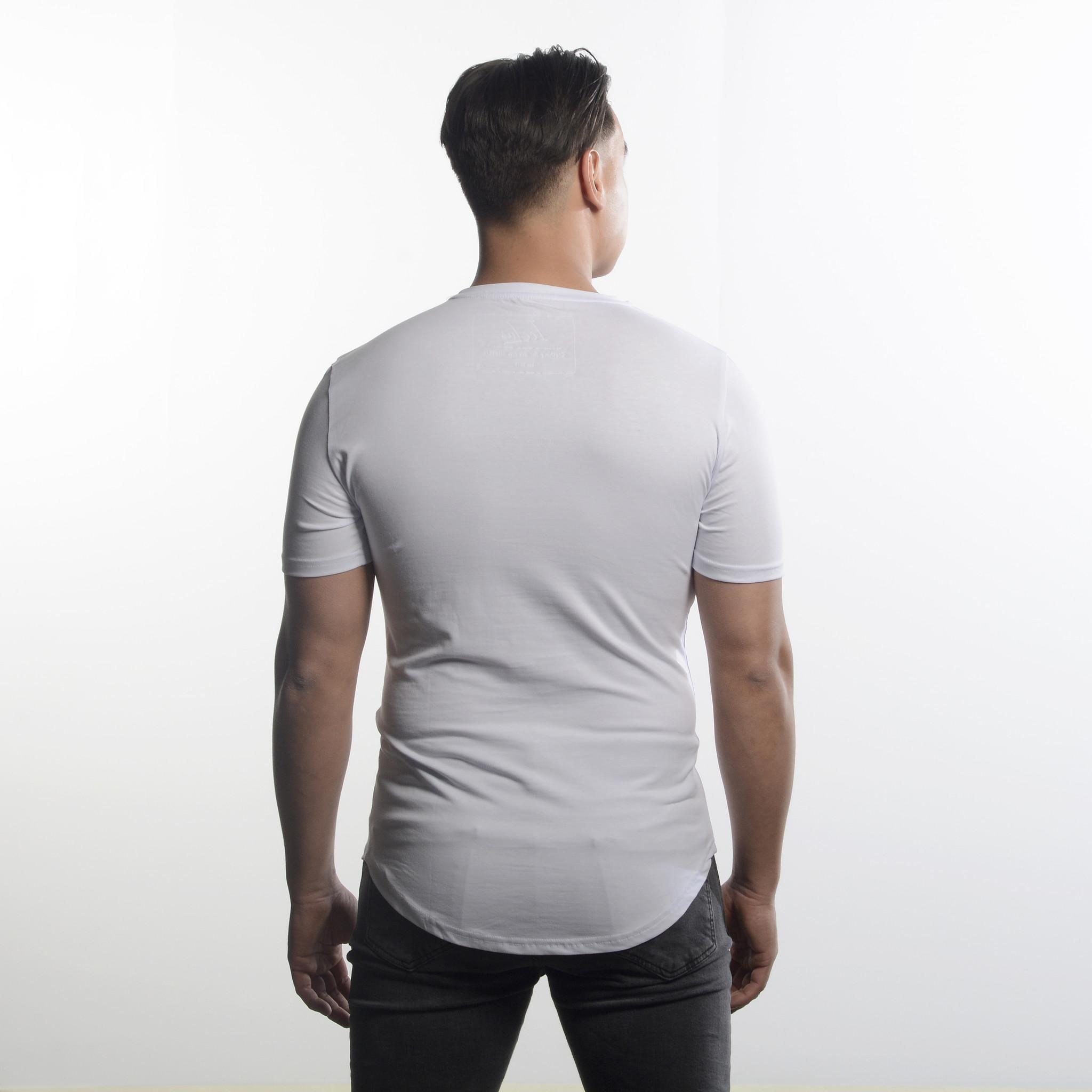 Icelus Clothing Ganster Series White