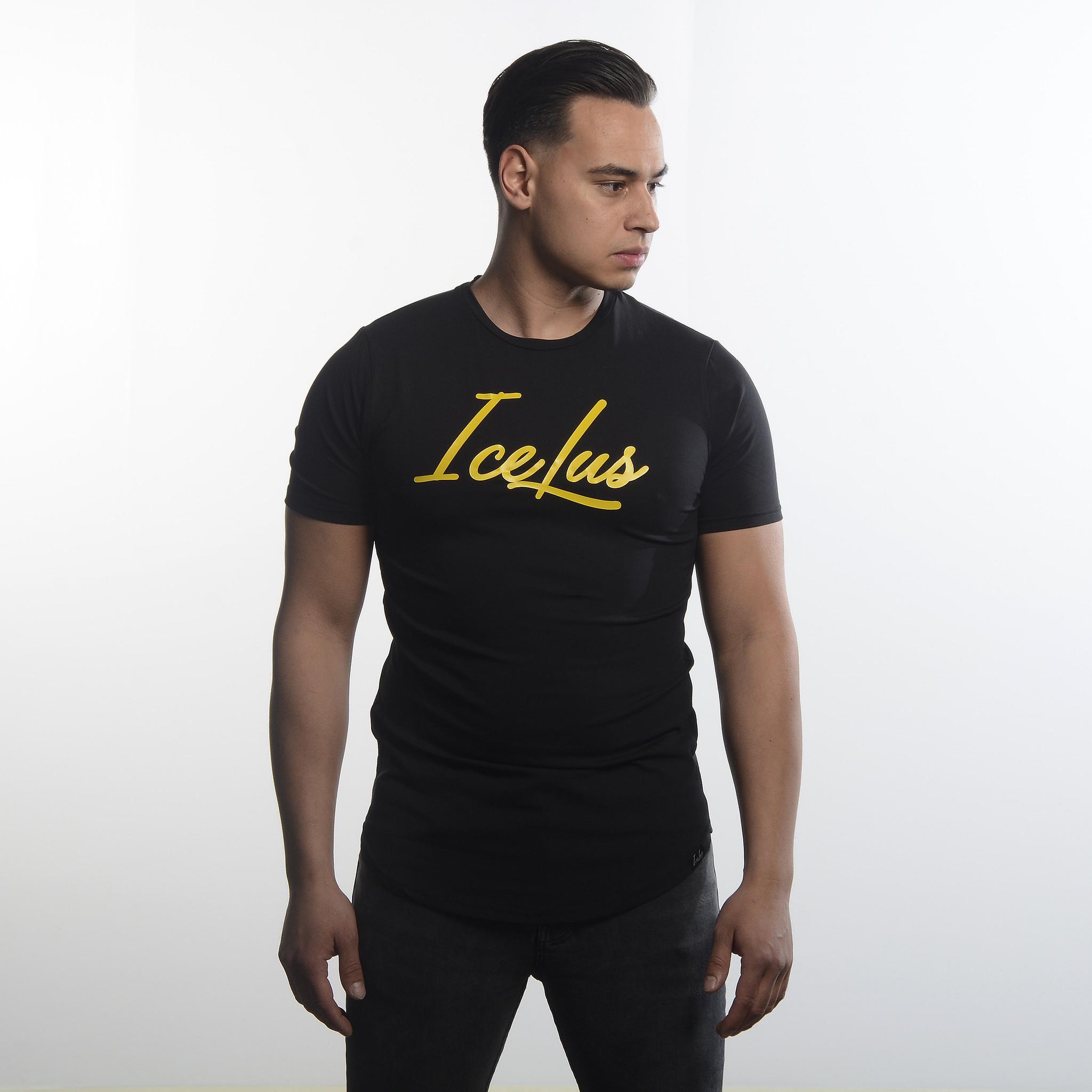 Icelus Clothing Icelus Series Yellow on Black