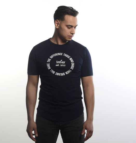 Icelus Clothing Circle Tee Blue