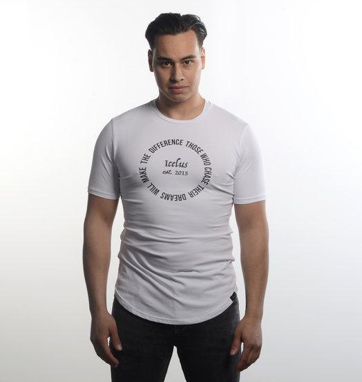 Icelus Clothing Circle Tee White