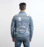Icelus Clothing Jacket Blue Pink