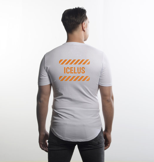 Icelus Clothing Icelus Series Orange White