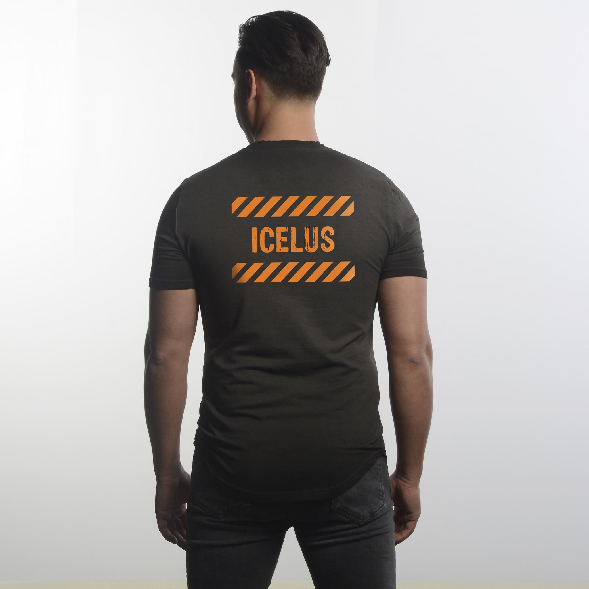 Icelus Clothing Icelus Series Orange Washed Black