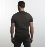 Icelus Clothing Icelus Series Orange on Washed Black