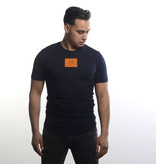 Icelus Clothing Logo Series Orange Blue