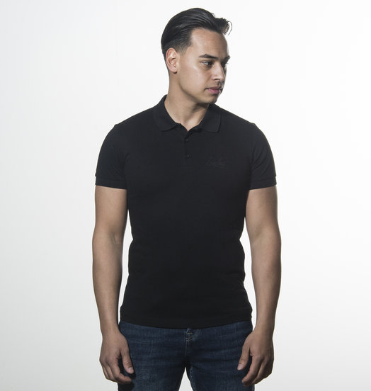 Icelus Clothing Polo T-shirt Black Icelus