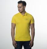 Icelus Clothing Polo T-shirt Yellow Logo