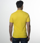 Icelus Clothing Polo T-shirt Yellow Logo