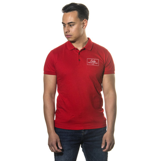 Icelus Clothing Polo T-shirt Red Logo