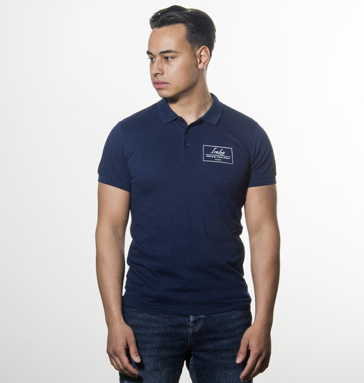 Icelus Clothing Polo T-shirt Blue Logo