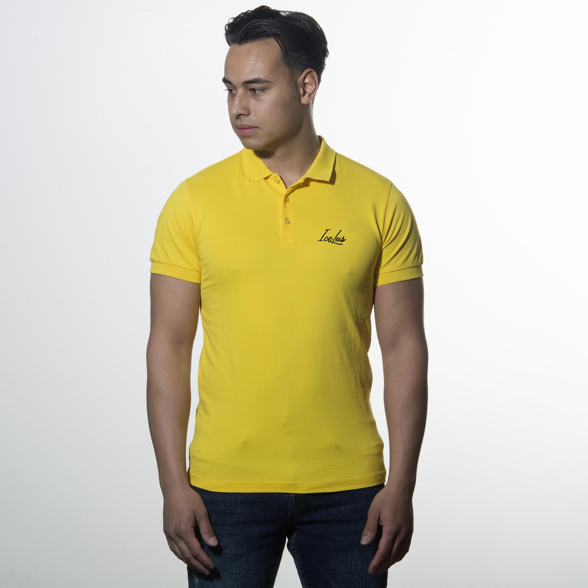Icelus Clothing Icelus Polo T-shirt Yellow