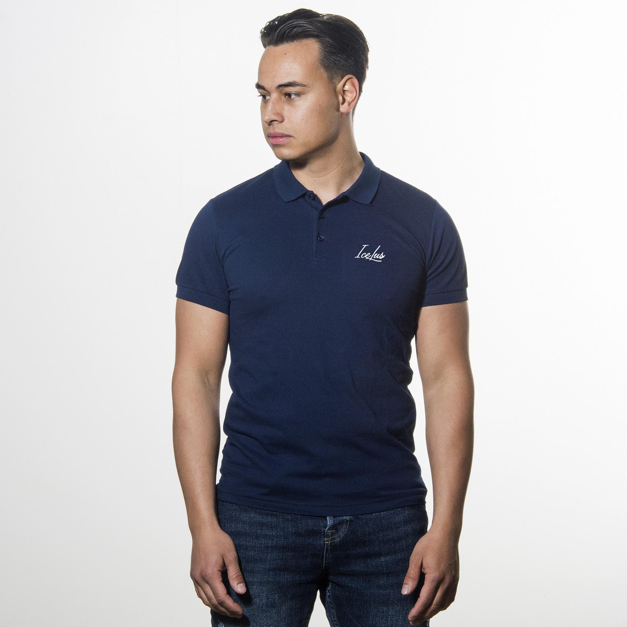 Icelus Clothing Icelus Polo T-shirt Blue