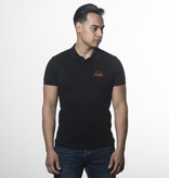 Icelus Clothing Icelus Polo T-shirt Orange on Black
