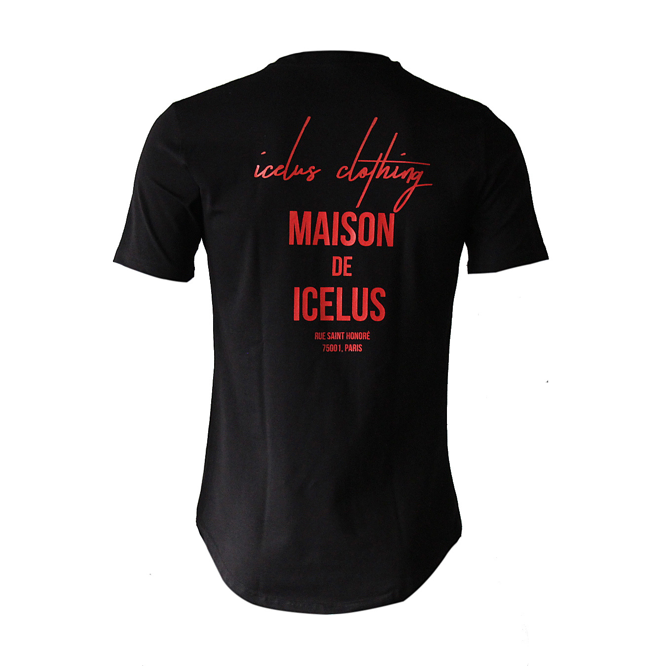 Icelus Clothing Maison Series Red Black