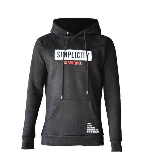 Simplicity Hoodie Black