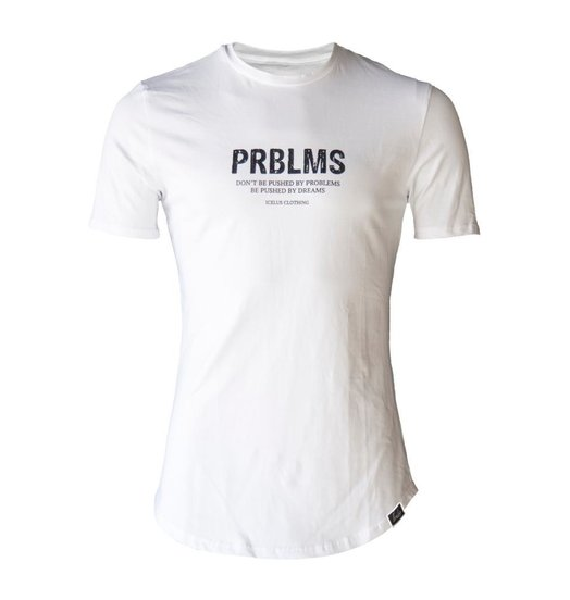 Icelus Clothing Prblms Tee White