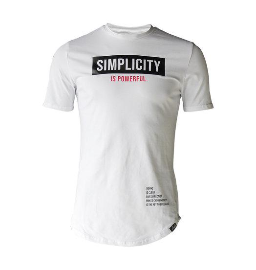 Simplicity Tee White