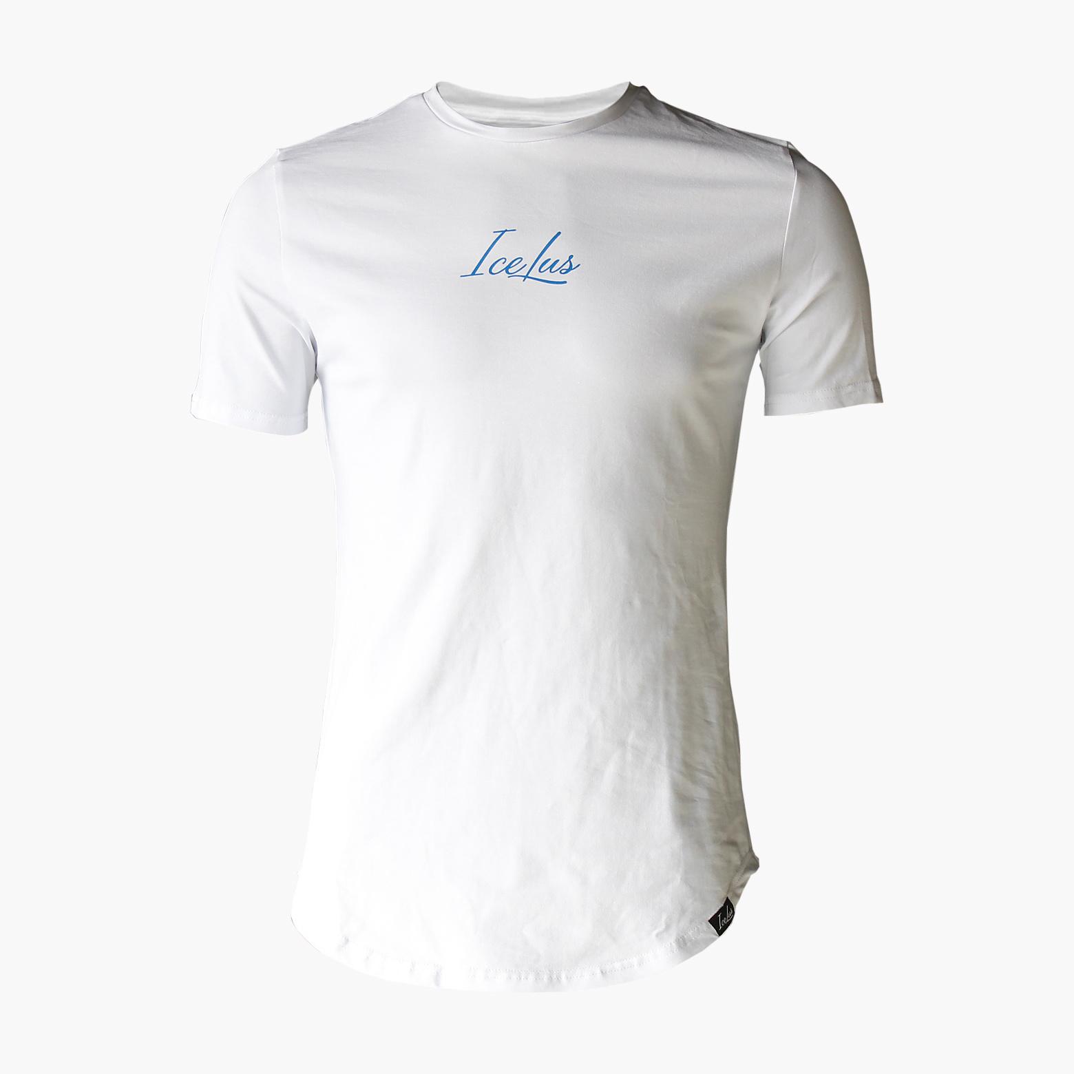 Icelus Clothing Icelus Blue on White