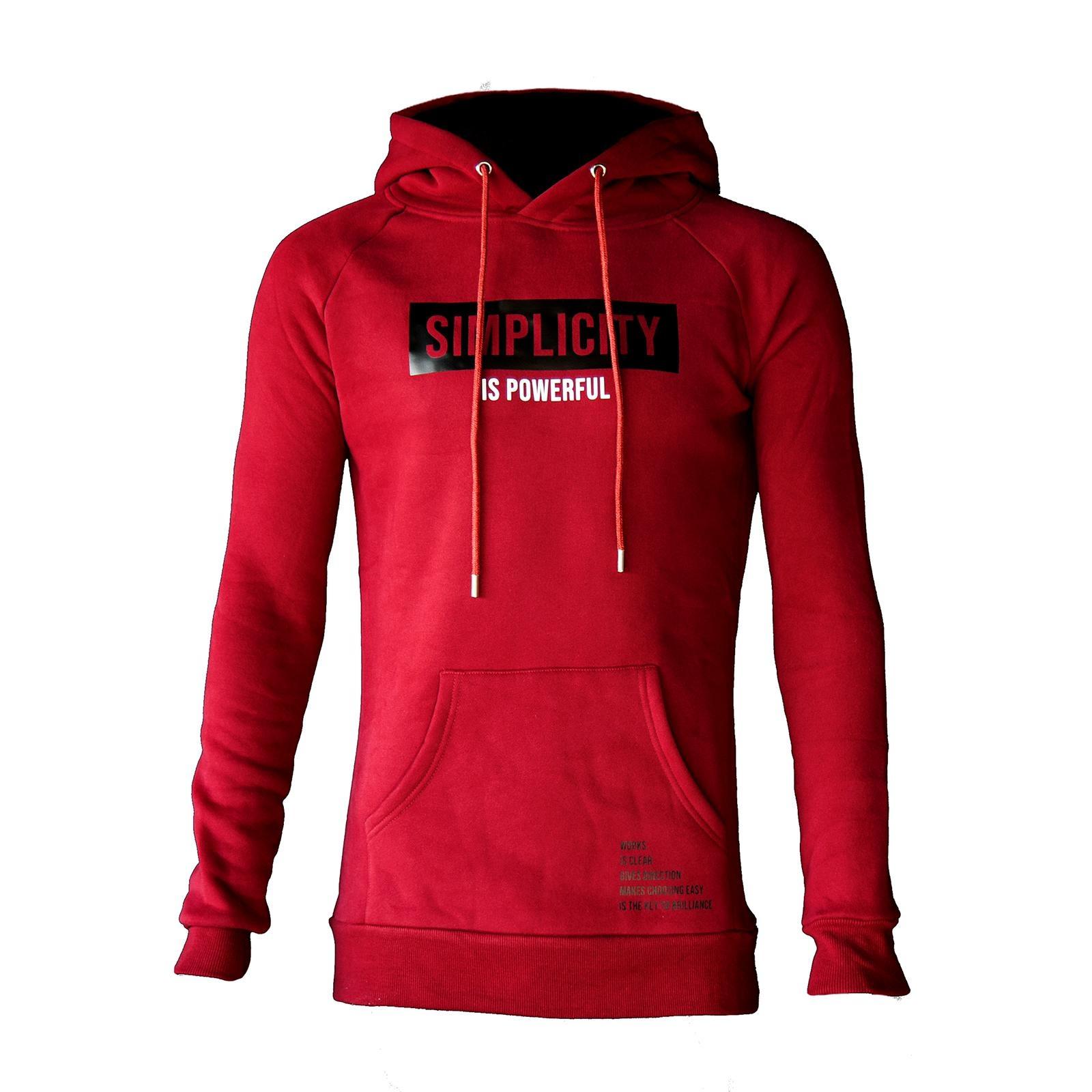 Simplicity Hoodie Red