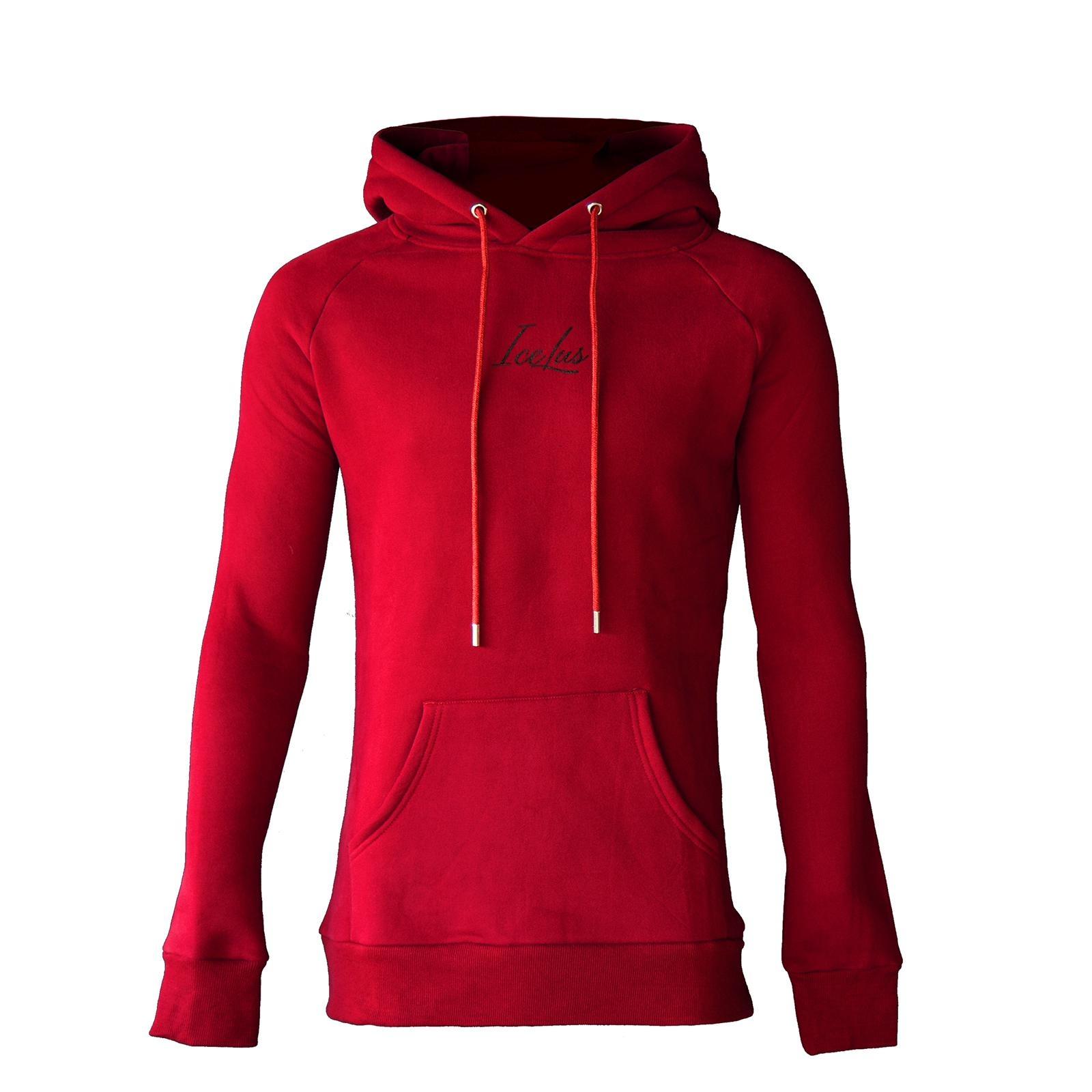 Icelus Hoodie Red