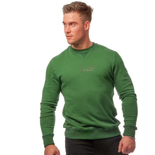 Icelus Clothing Icelus Sweater Black on Green