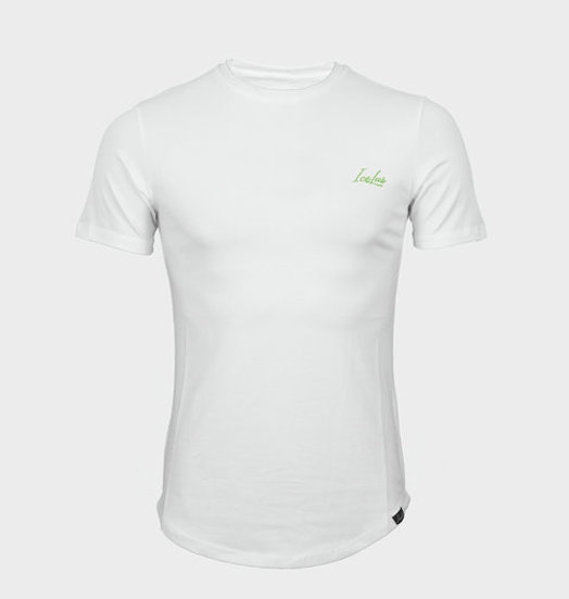 Icelus Clothing Icelus Chest Green on White