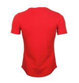 Icelus Clothing Icelus Chest Black on Red