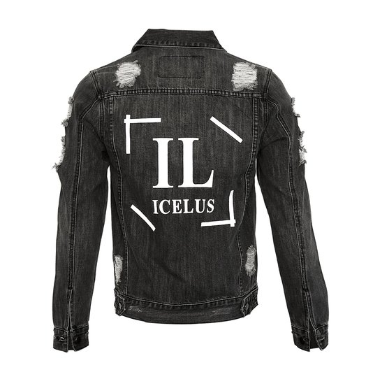 Icelus Clothing Jacket Grey Logo
