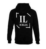 Icelus Clothing Hoodie Logo Black