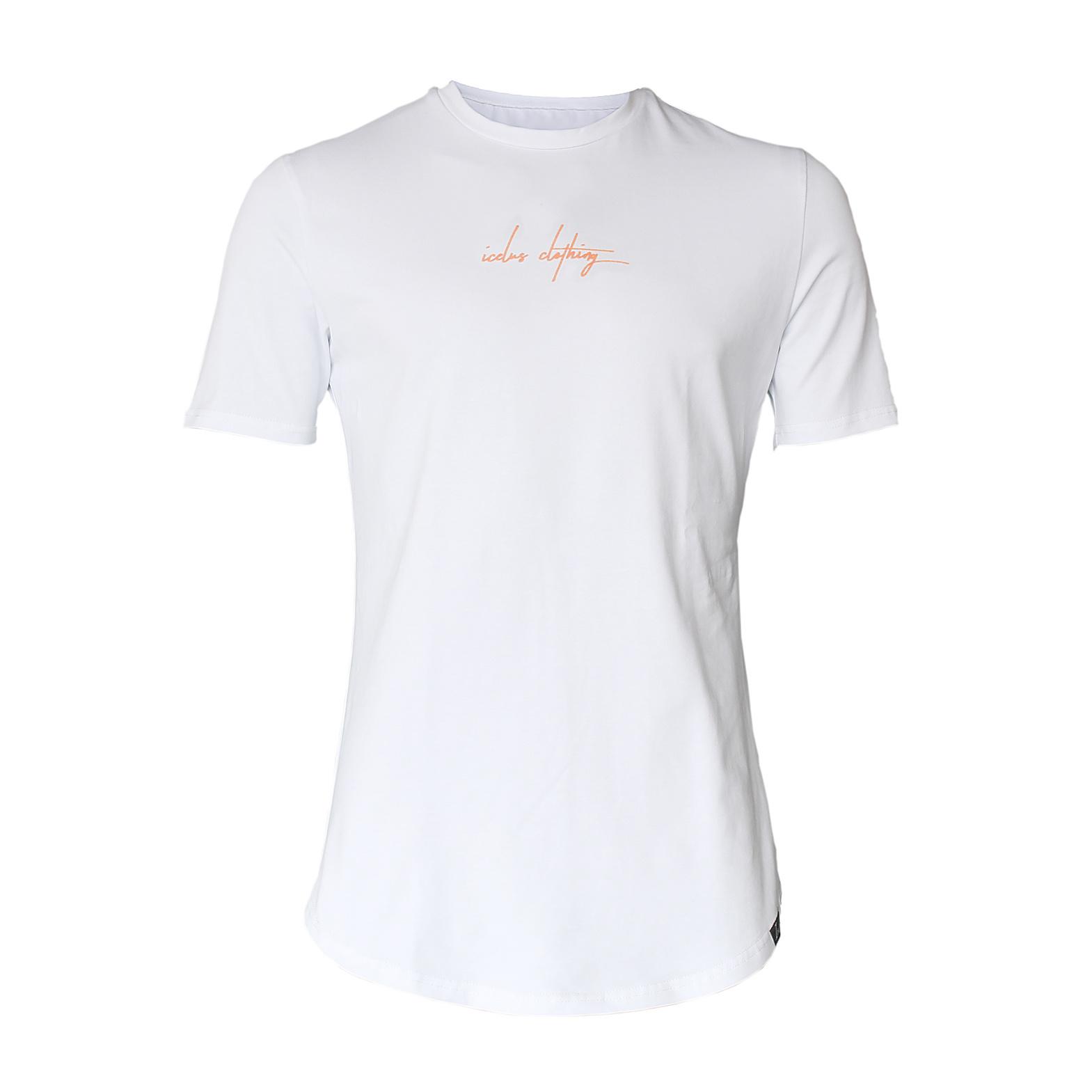 Icelus Clothing Maison Series Orange on White