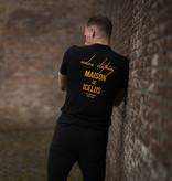 Icelus Clothing Maison Series Yellow on Black