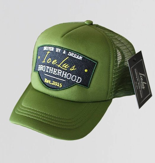 Icelus Clothing Trucker Cap Green