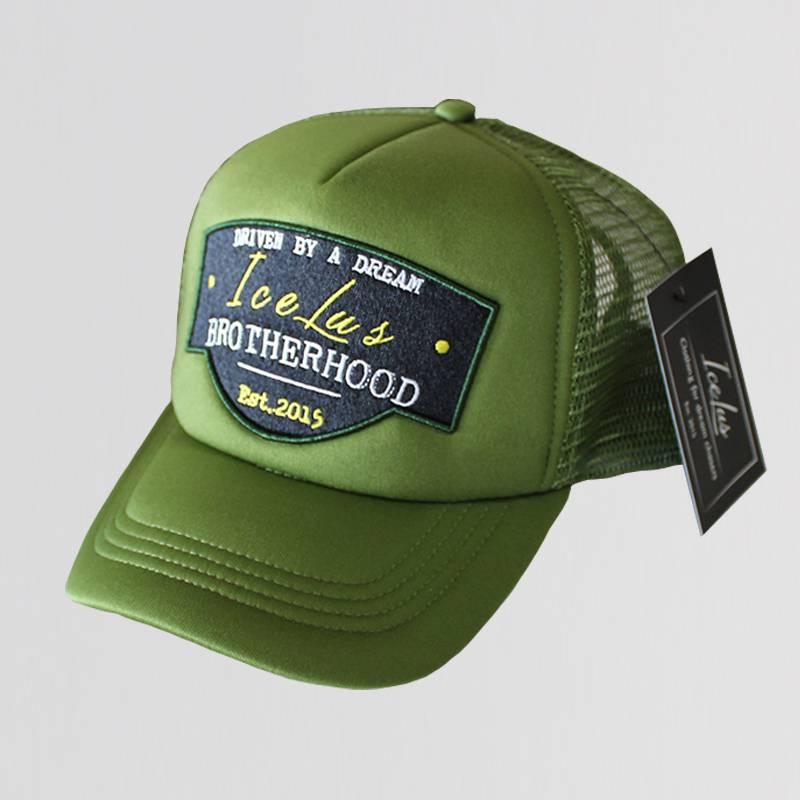 Icelus Clothing Trucker Cap Green