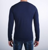 Icelus Clothing Zipper Longsleeve Blue