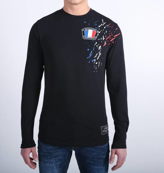Icelus Clothing Paint Longsleeve Black